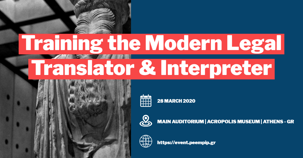 """Training the Modern Legal Translator & Interpreter"""